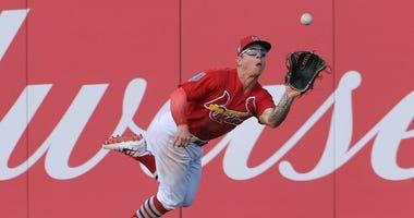 St. Louis Cardinals left fielder Tyler O'Neill.