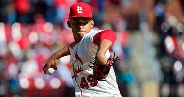St. Louis Cardinals relief pitcher Jordan Hicks