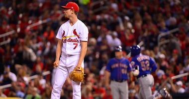 St. Louis Cardinals starting pitcher Luke Weaver