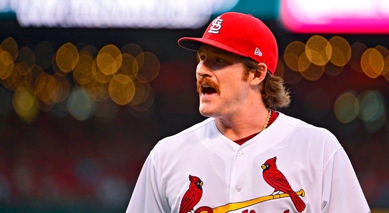 St. Louis Cardinals starting pitcher Miles Mikolas.