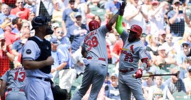 St. Louis Cardinals first baseman Jose Martinez