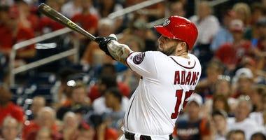 Washington Nationals first baseman Matt Adams