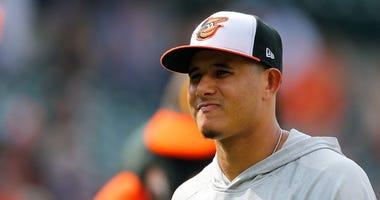 Baltimore Orioles shortstop Manny Machado