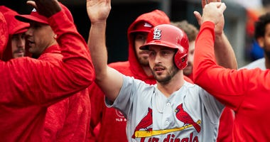St. Louis Cardinals shortstop Paul DeJong.
