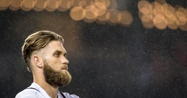 Washington Nationals center fielder Bryce Harper
