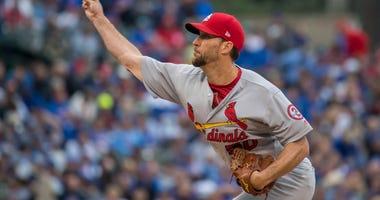 St. Louis Cardinals pitcher Adam Wainwright.