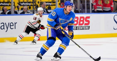 St. Louis Blues left wing Alexander Steen