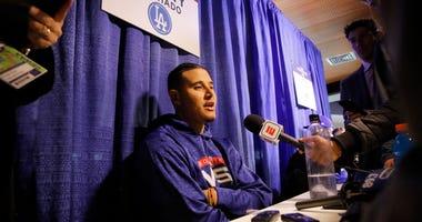 Los Angeles Dodgers shortstop Manny Machado