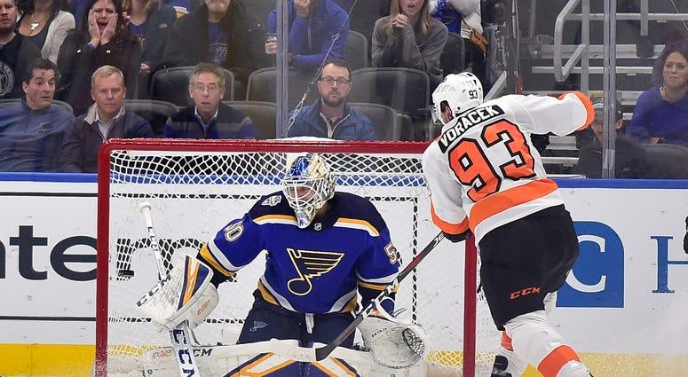 Blues vs. Flyers
