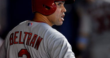 Carlos Beltran as a St. Louis Cardinal