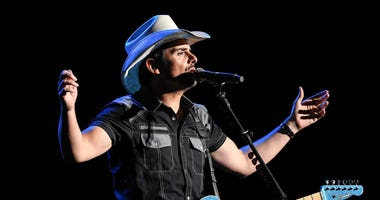 Brad Paisley performs