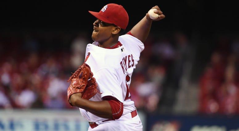 St. Louis Cardinals starting pitcher Alex Reyes