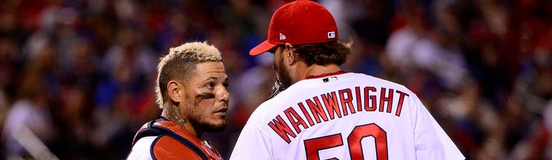 What things are Cardinals legends Wainwright, Molina not good at?