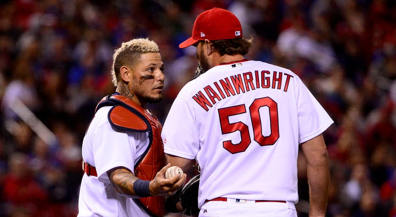 What things are Cardinals legends Wainwright, Molina not good at?