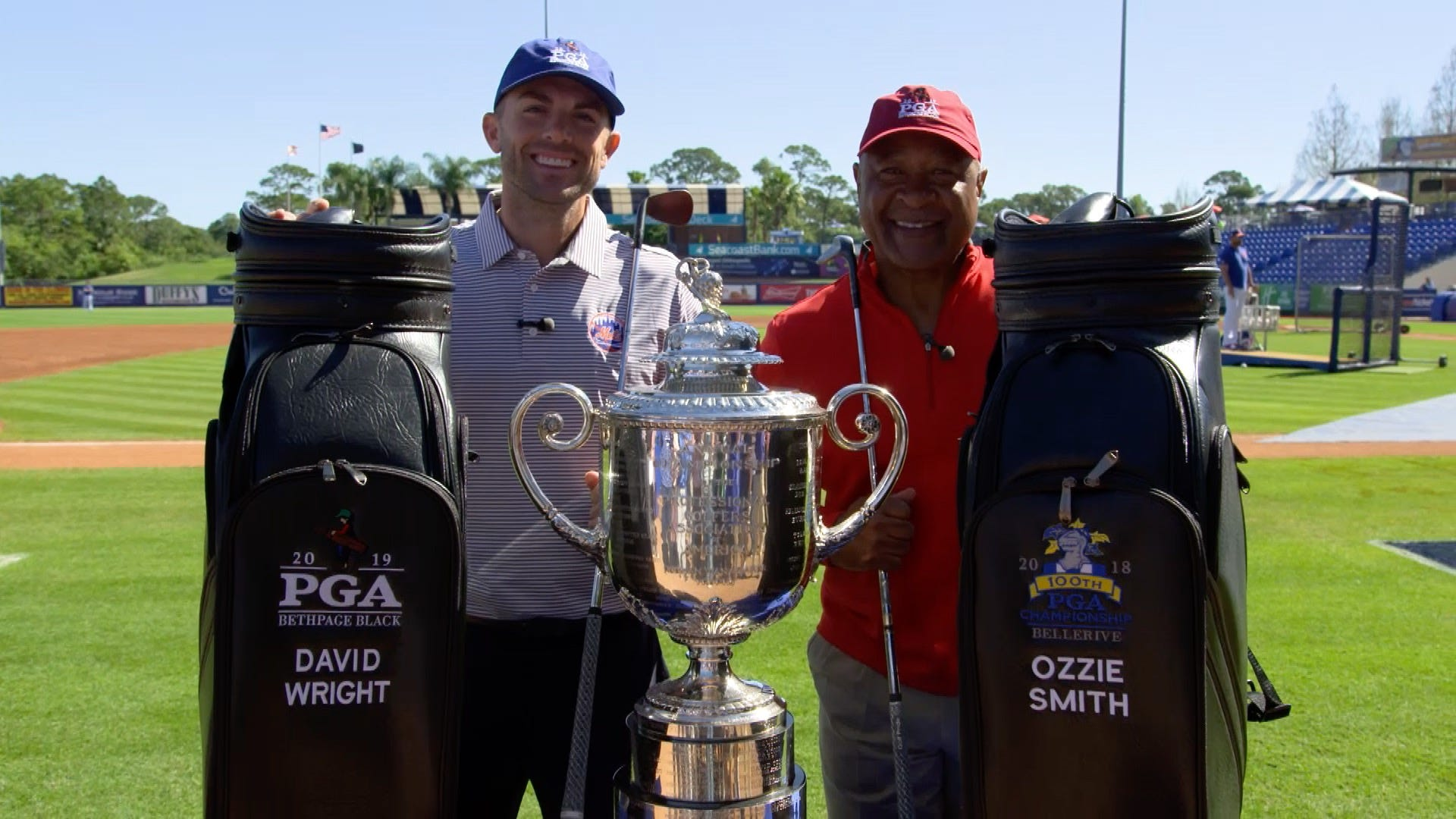 David Wright knew he had big shoes to fill taking over Ozzie's role at PGA Champ