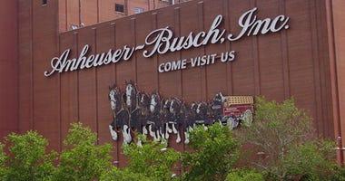 Anheuser-Busch Brewery in St. Louis.