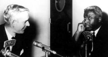 Jack Buck, Jackie Robinson