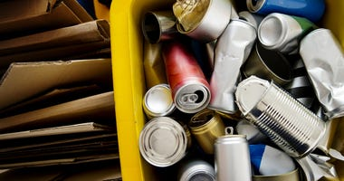 Recycle canned and box environment conservation