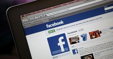 facebook on web browser
