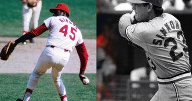 Bob Gibson and Ted Simmons