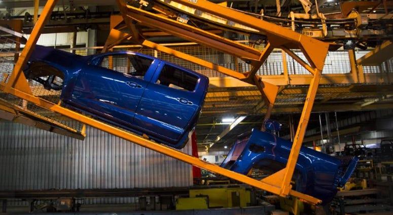 GM plant in Wentzville
