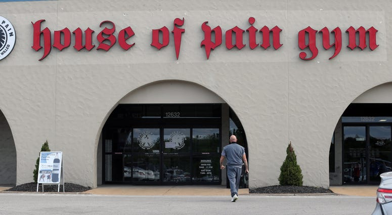 house of pain gym, St. Louis