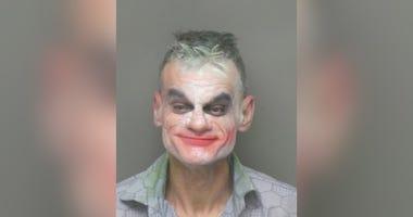 joker, mugshot,