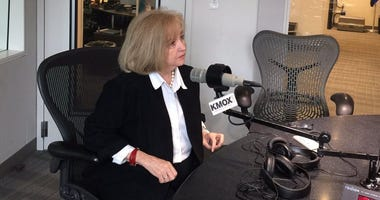 St. Louis Mayor Lyda Krewson in the KMOX studio.