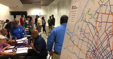 Metro Reimagined open house at Central Library on August 26, 2019