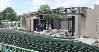 Stage renovations at The Muny