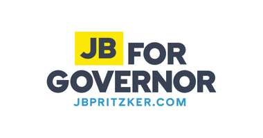 JB Pritzker campaign logo