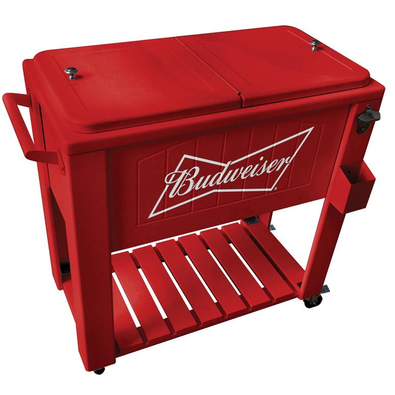 Budweiser Patio Rolling Cooler