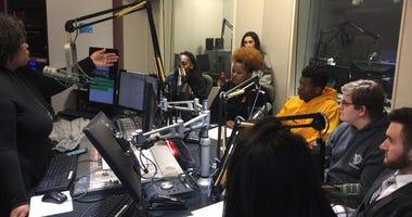 KMOX's Carol Daniel hosts local high school students to talk about gun violence in studio