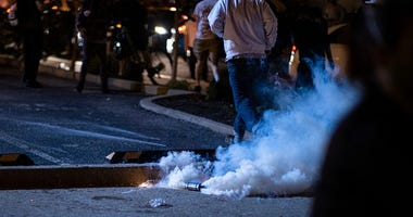Tear gas could increase spread of coronavirus among protesters, experts say