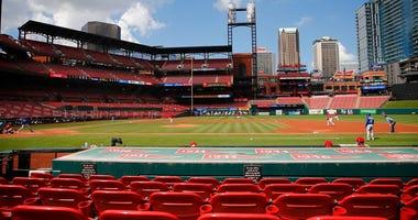 Cardinals-Brewers series postponed amid several new coronavirus cases
