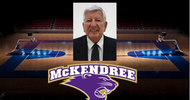 Photo of former McKendree head basketball coach Harry Statham