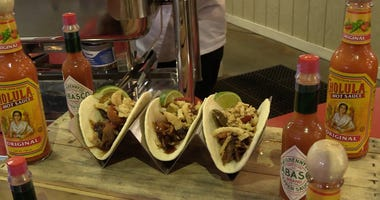 Coca-Cola Street Tacos are new to Busch Stadium in 2018.