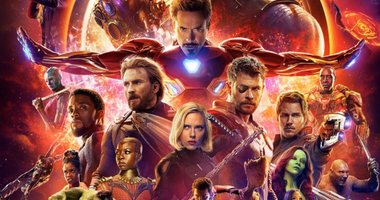 """Marvel's movie poster for """"Avengers: Infinity War"""" which hits theaters on April 27."""