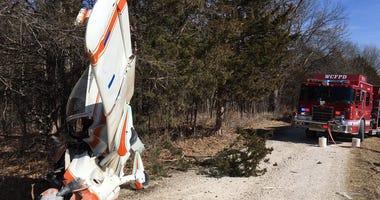 Wright City Fire-small plane crash in Centreville