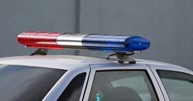 Police cop officer law emergency service car siren