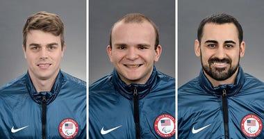 Billy Hanning, Josh Pauls & Steve Cash (Courtesy: USA Hockey)