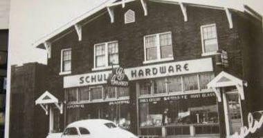 Vintage photo of Schulte Hardware