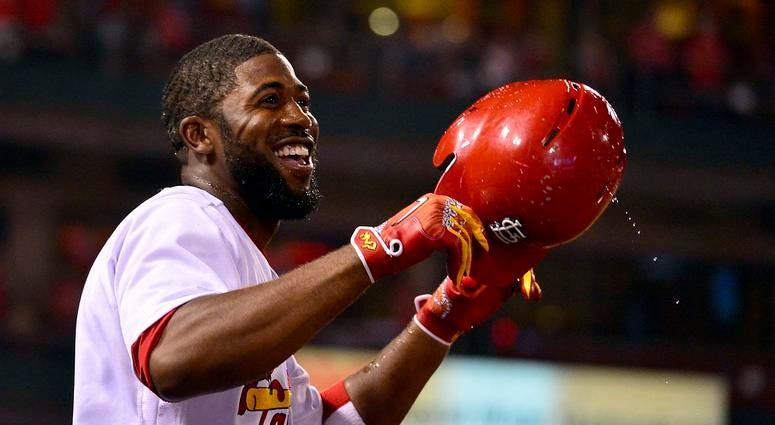 St. Louis Cardinals oufielder Dexter Fowler