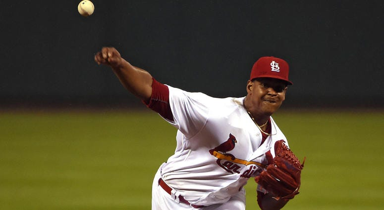 St. Louis Cardinals pitcher Alex Reyes