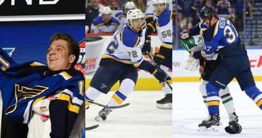 St. Louis Blues prospects Robert Thomas, Jordan Kyrou and Klim Kostin