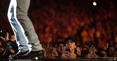 June 23, 2017; Hershey, PA, USA; Luke Bryan performs on the Luke Bryan's Huntin', Fishin', and Lovin' Every Day tour at Hersheypark Stadium. Mandatory Credit: Jeremy Long/Lebanon Daily News via USA TODAY NETWORK