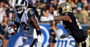 Los Angeles Rams wide receiver Sammy Watkins