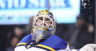 St. Louis Blues goalie Carter Hutton