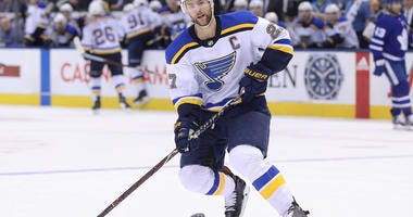 St. Louis Blues captain Alex Pietrangelo.