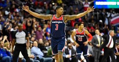 Washington Wizards guard Bradley Beal